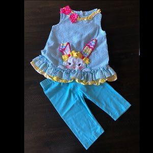 Little girls Easter outfit